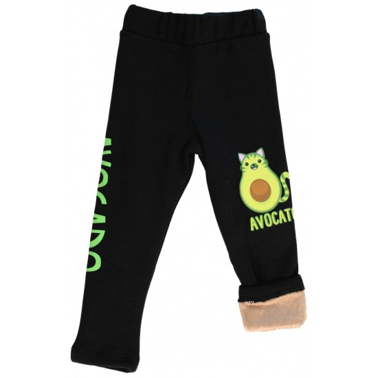 Colanti bumbac avocado pisica