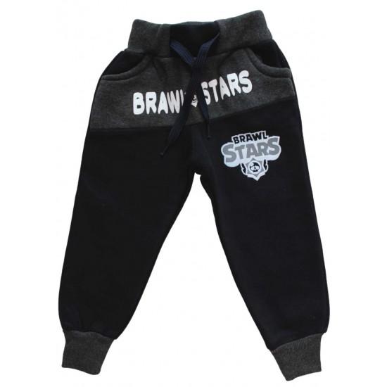 Pantaloni vatuiti Brawl stars negrii