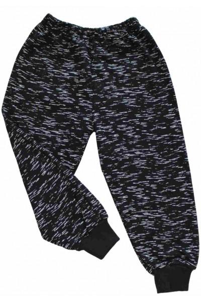 Pantaloni bleumarin ploita