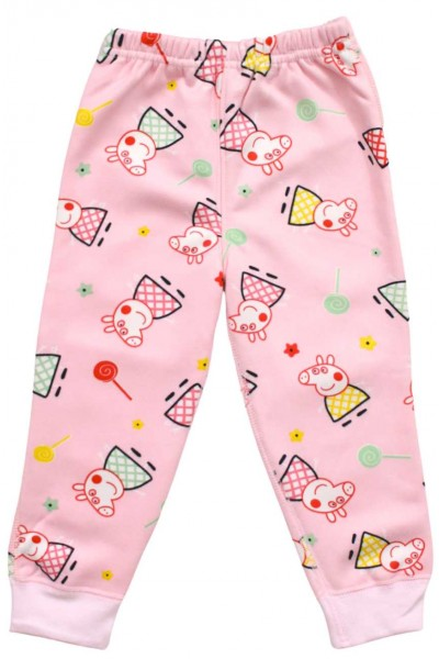 Pantaloni copii roz