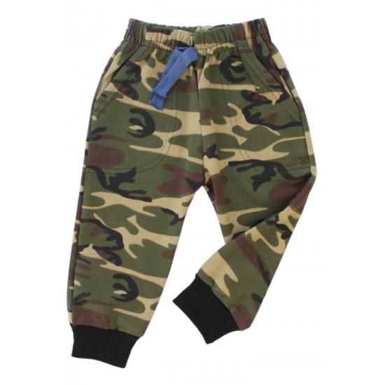 pantaloni copii army kaki