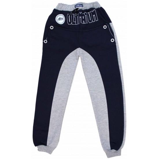 pantaloni copii bleumarin gri ultimatum