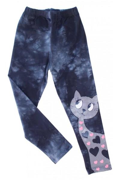 colanti fetite bleumarin pisica