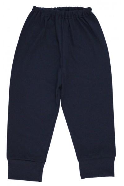 pantaloni bumbac subtire bleumarin