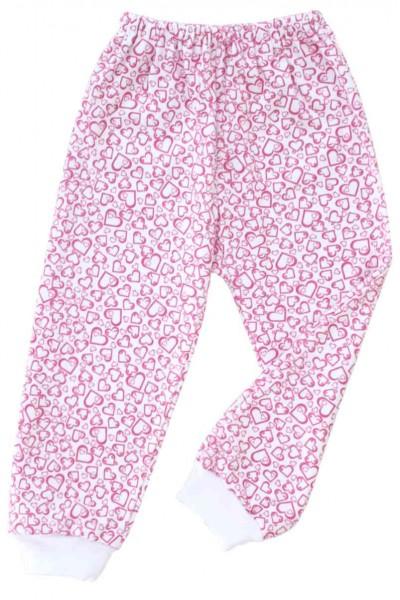 pantaloni azuga inimioare roz