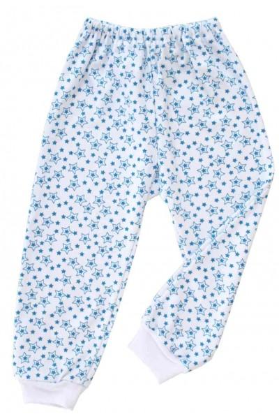 pantaloni azuga stelute albastre