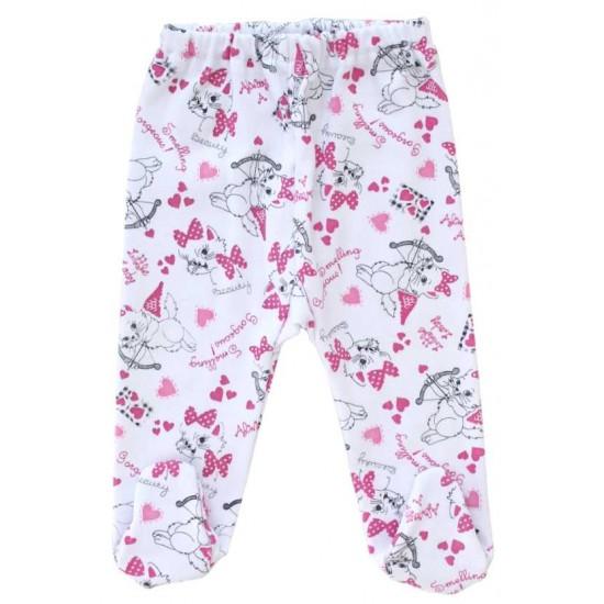 pantaloni botosel azuga pisici roz