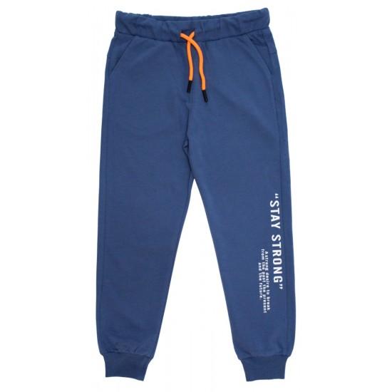 Pantaloni trening baieti stay strong albastru