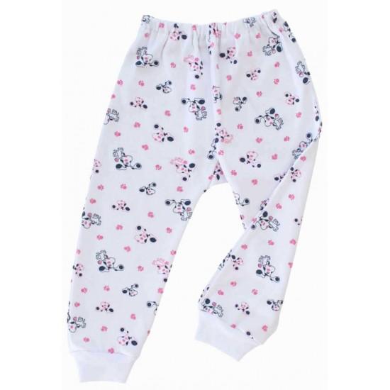 pantalon catel roz