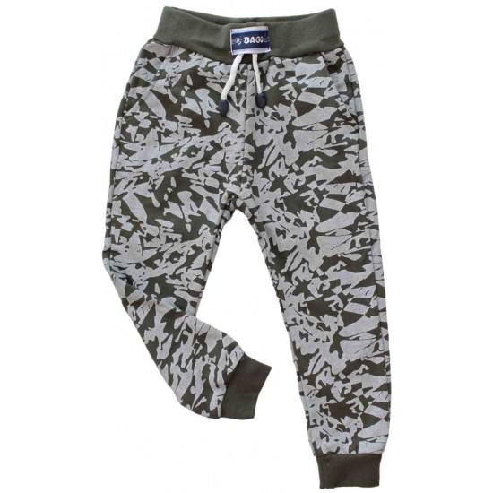 pantaloni bumbac copii kaki bago