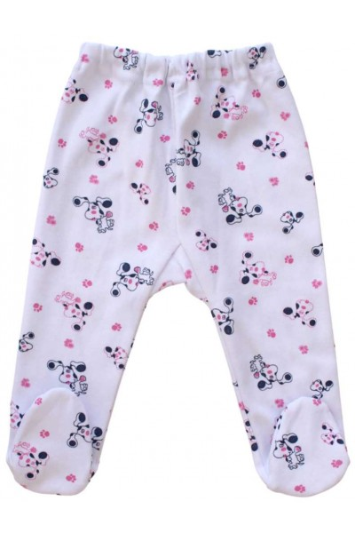Pantaloni botosel catei roz