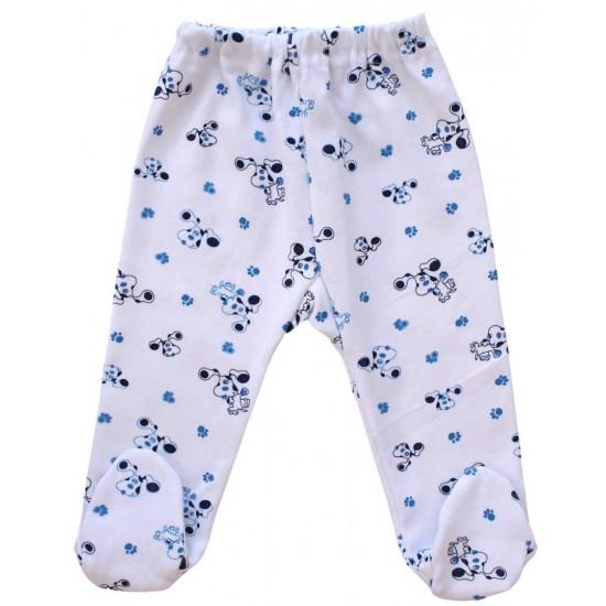 pantaloni botosel catei albastri