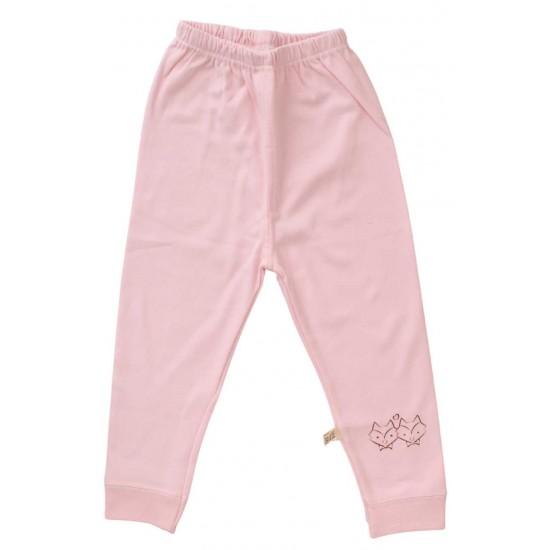 pantaloni copii bumbac premium roz
