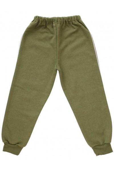 pantaloni copii trening kaki