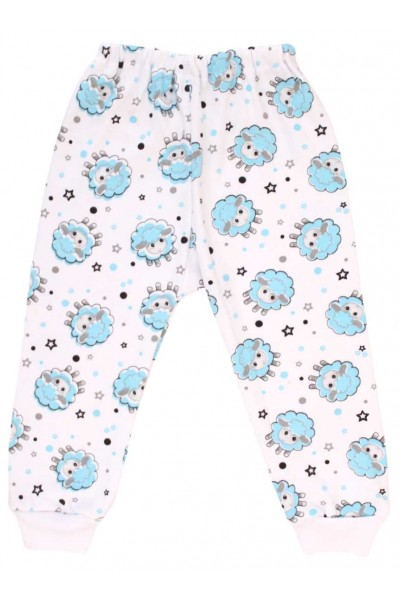 pantaloni oita bleu