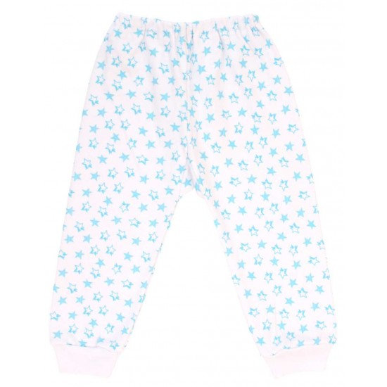 pantaloni stelute bleu