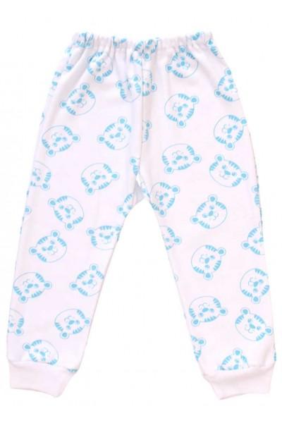 pantaloni tigru bleu