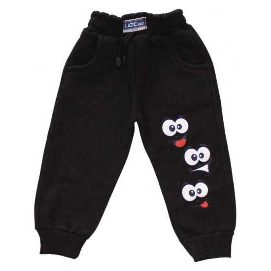 pantaloni atc negri ochi