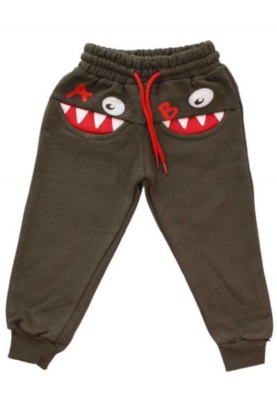 pantaloni A&B kaki