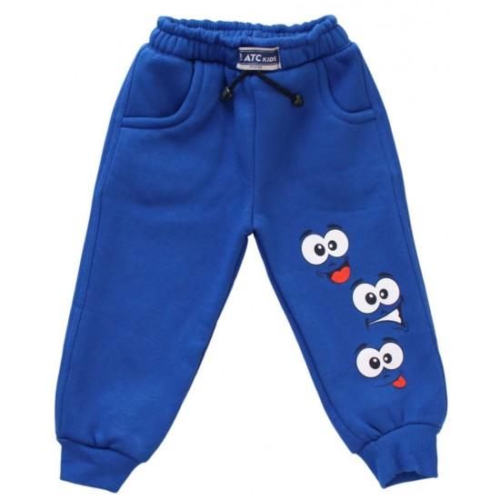 pantaloni atc albastri ochi