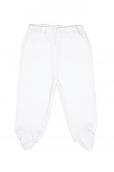 Pantaloni botosel bumbac subtire azuga albi
