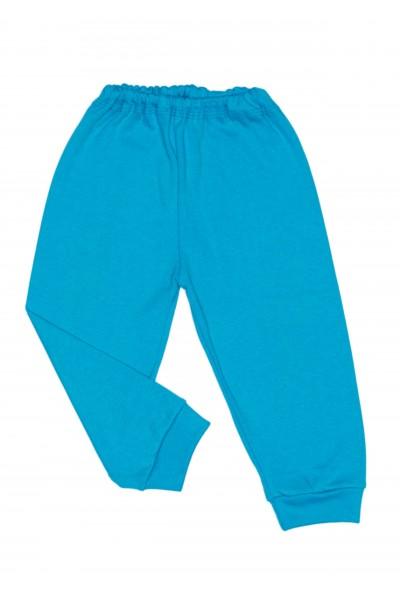 Pantaloni casa bumbac subtire adonis turcoaz