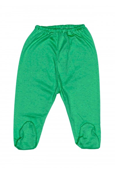 Pantaloni botosel bumbac subtire adonis verde