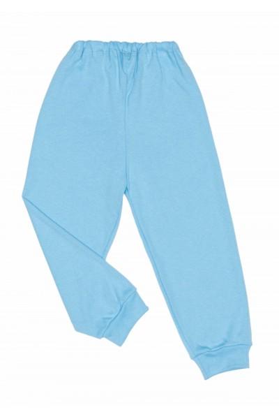 Pantaloni casa bumbac subtire adonis bleu