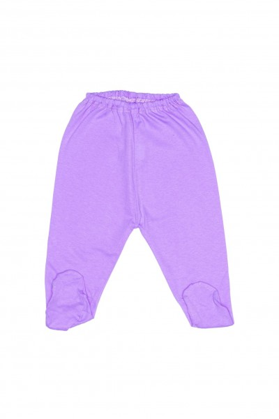 Pantaloni botosel bumbac subtire adonis mov