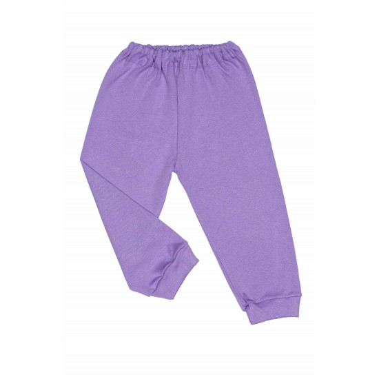 pantaloni casa adonis bumbac subtire mov
