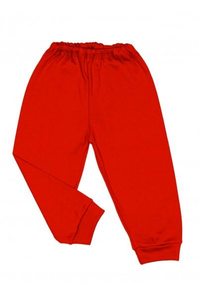 Pantaloni casa bumbac subtire adonis rosu