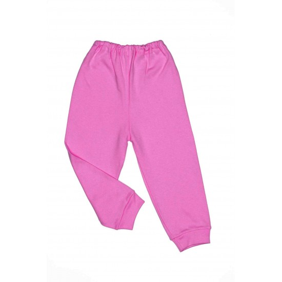 Pantaloni casa bumbac subtire adonis roz cyclame