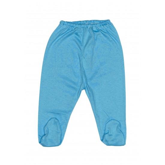 Pantaloni botosel bumbac subtire adonis albastru