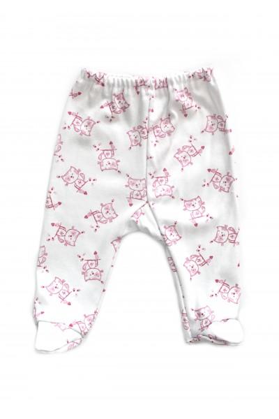 Pantalon botosel azuga pisicute roz