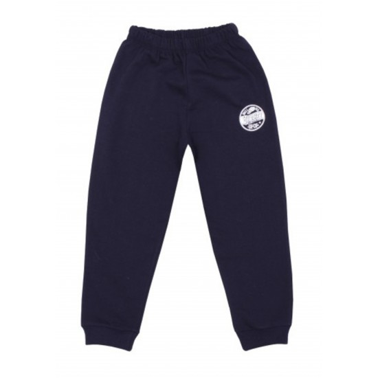 Pantaloni trening subtire kara bleumarin