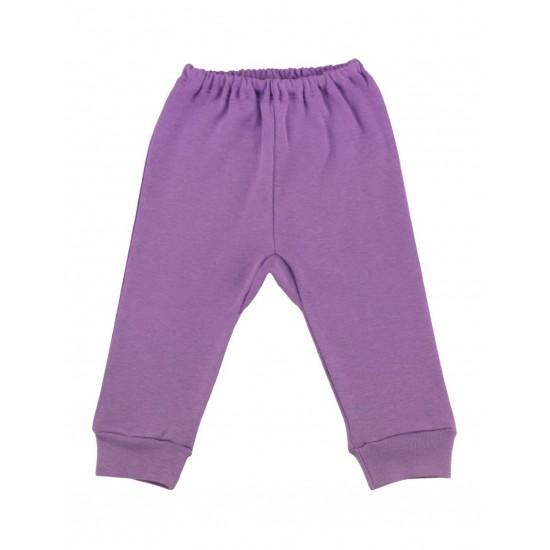 Pantaloni bumbac bebe kara mov