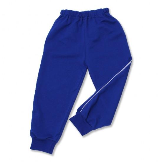 Pantaloni trening azuga vipusca albastru