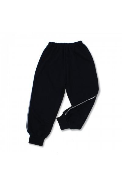 pantalon trening azuga bleumarin vipusca alba