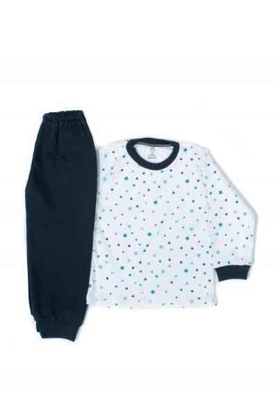 Pijama Iris Bleumarin