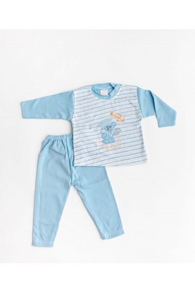 Pijama BEBEEM albastra