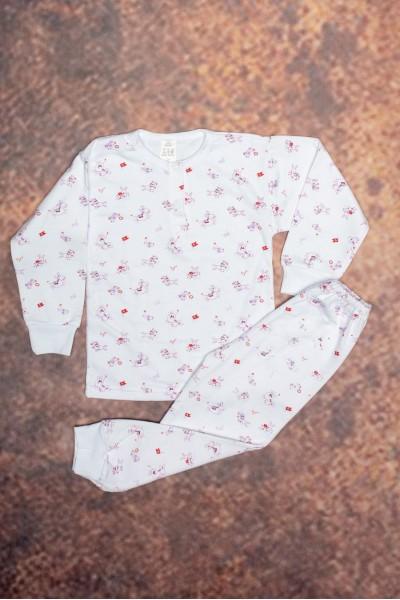 Pijama copii baby confex imprimeu iepurasi