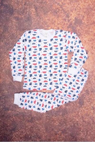 Pijama copii azuga imprimeu masinute