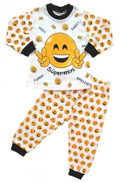 pijamale bumbac copii smile