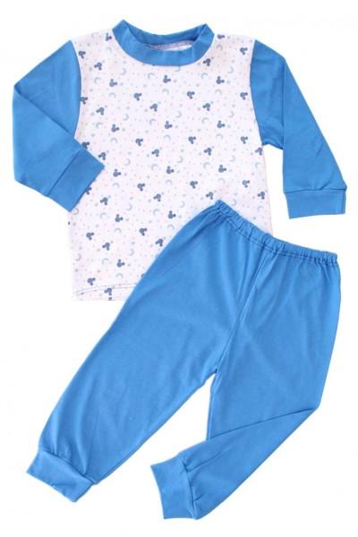 pijamale copii bumbac adonis semilune