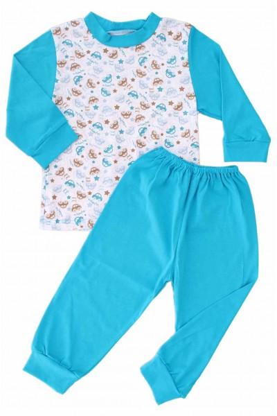 pijamale copii bumbac adonis masinute