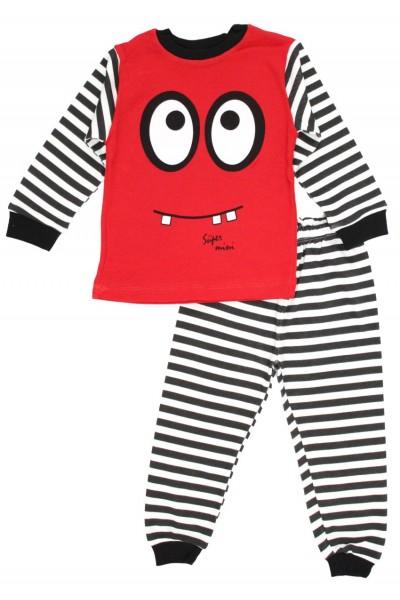 Pijamale copii bumbac supermini rosu