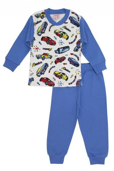 Pijamale copii bumbac masinute winner
