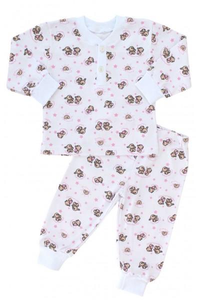 pijamale fete ursuleti + iepurasi