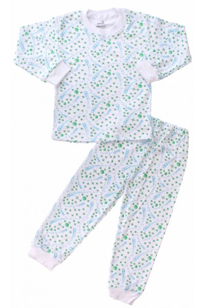 pijamale copii bumbac comete