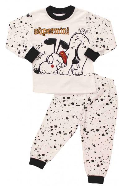 pijamale bumbac copii catel